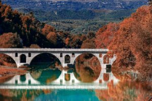 Romain, Pont, Berat, Albanie, Le Tourisme, Historique