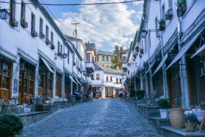 Unesco, Gjirokastër, Albanie, Ville, Voyage, Europe