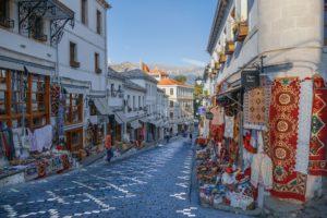 Gjirokastër, Albanie, Ville, L'Architecture, Unesco